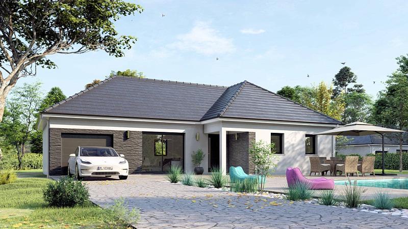 Maison neuve, 95 m² PROCH…