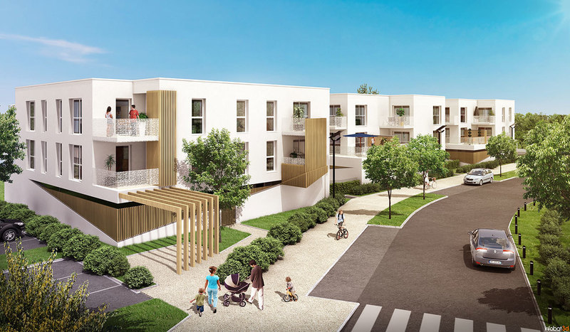 Appartement neuf, 66 m² Vivre…