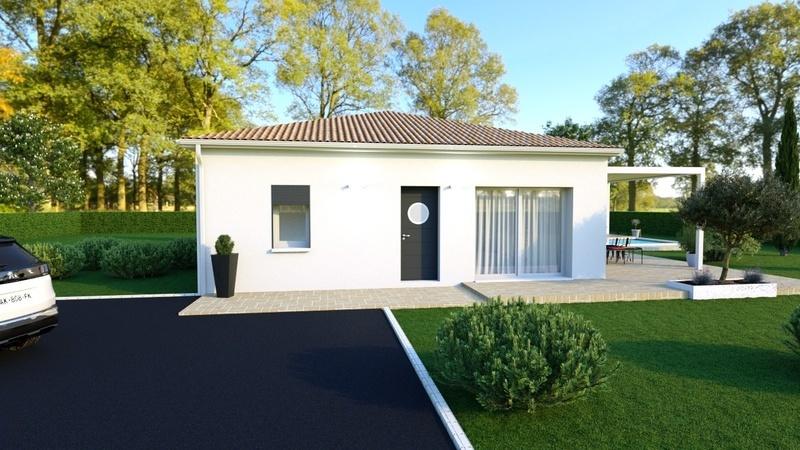 Maison neuve, 70 m² Rouqu…