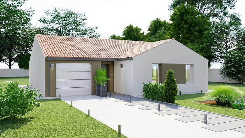 Maison neuve, 80 m² DECOU…
