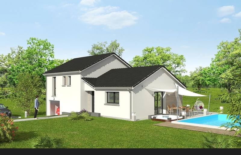 Maison neuve, 85,12 m² Terra…