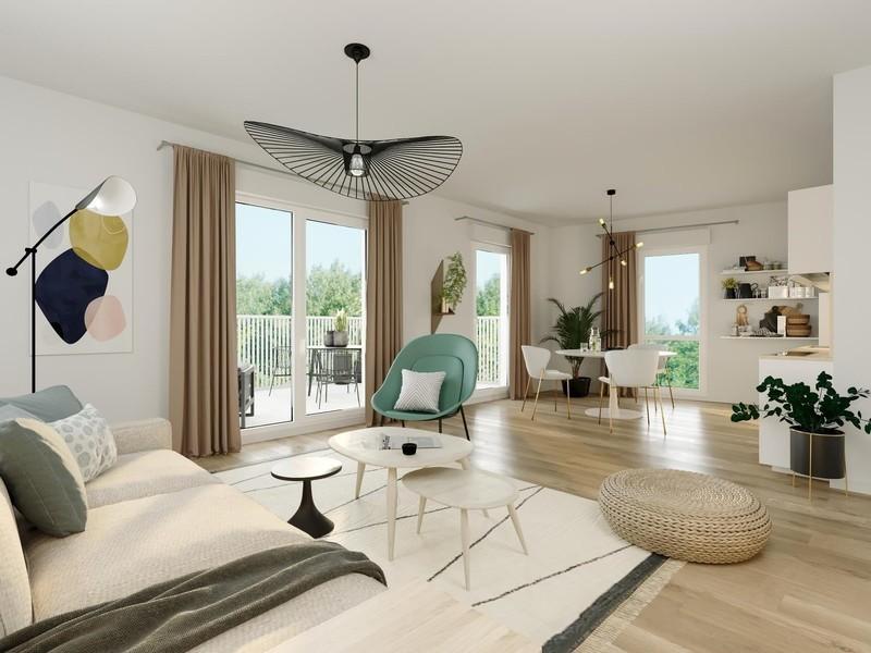 Appartement neuf, 59,33 m² LANCE…