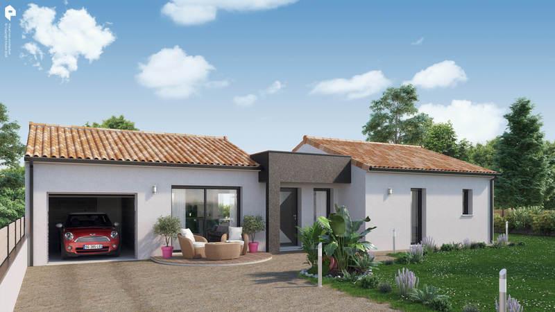 Maison neuve, 93 m² Idéal…