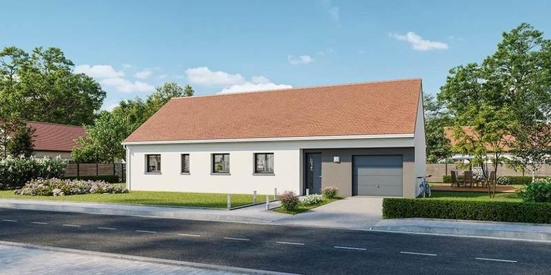 Maison neuve, 110 m² Baris…