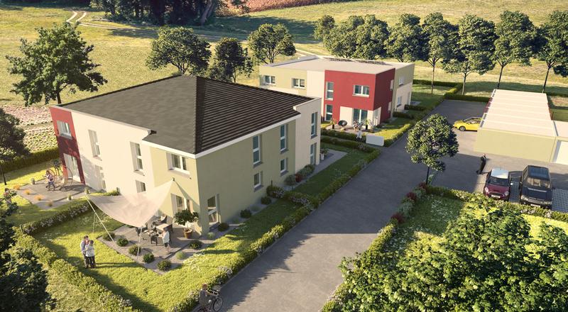 Duplex Jardin Bas Rhin Piscine - Immojojo