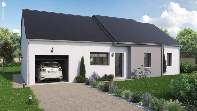 Maison neuve, 87 m² Rare …