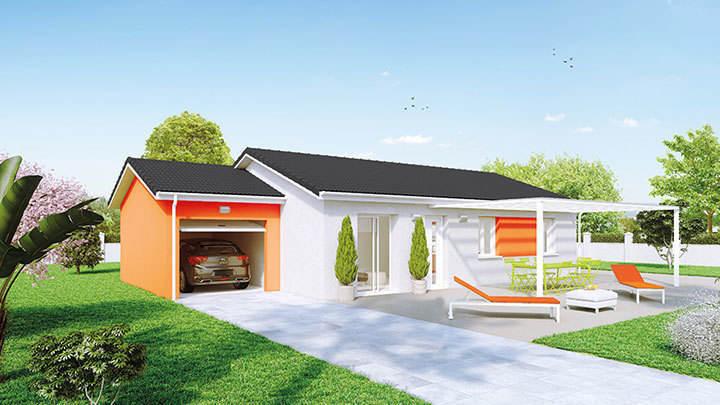 Maison neuve, 74 m² Nous …