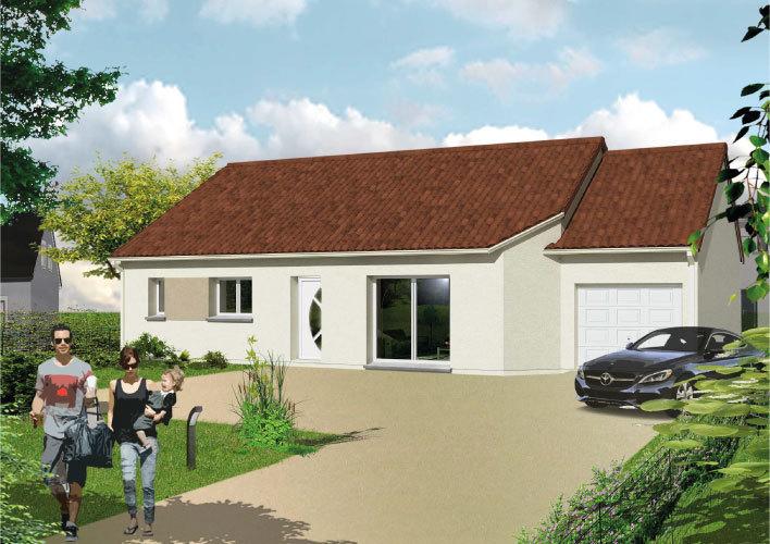 Maison neuve, 75 m² Dans …