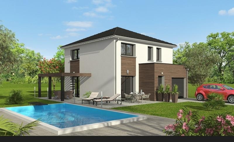 Maison neuve, 101,08 m² Terra…