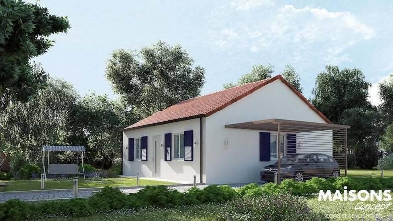 Maison neuve, 73 m² Envie…