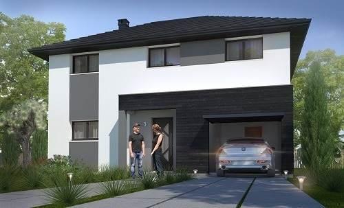 Maison neuve, 112,86 m² MORAL…