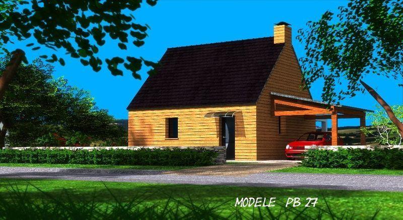 Maison neuve, 44,28 m² A Sai…