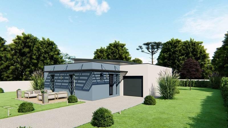 Maison neuve, 88 m² DECOU…